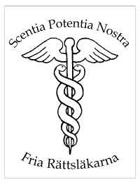 Fria Rättsläkarna logotyp